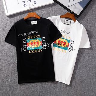 グッチ(Gucci)の[2枚5000円送料込み]GUCCIグッチ Tシャツ 半袖 男女兼用(Tシャツ/カットソー(半袖/袖なし))