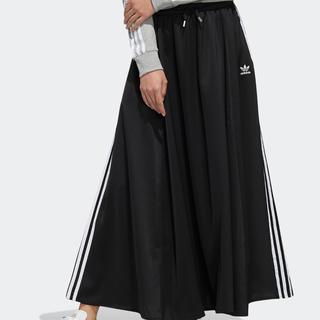 アディダス(adidas)のLONG SATIN SKIRT アディダスオリジナルス(ロングスカート)