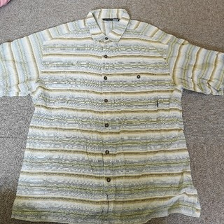 パタゴニア(patagonia)のパタゴニア  半袖  シャツ  Lサイズ(シャツ)