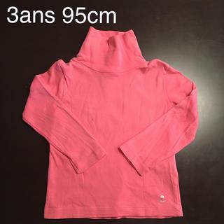 プチバトー(PETIT BATEAU)のプチバトー 裏起毛タートルカットソー(Tシャツ/カットソー)