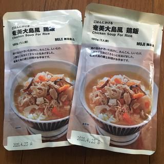 ムジルシリョウヒン(MUJI (無印良品))の無印良品  鶏飯+有機ルイボスティー《rumiさま専用》(インスタント食品)