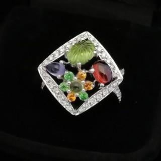 さくまドロップではありません♥️(^-^) かわいい宝石箱✨リング K18WG(リング(指輪))