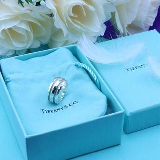 ティファニー(Tiffany & Co.)の☆新品☆未使用☆Tiffany&Co. ティファニー ラインリング9号(リング(指輪))