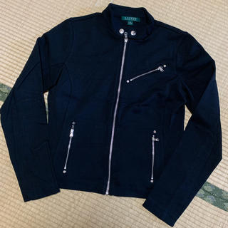 ラルフローレン(Ralph Lauren)のLAUREN ラルフローレン ライダースジャケット 黒 ブラック ブルゾン(ブルゾン)