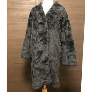 ローズバッド(ROSE BUD)のコート(毛皮/ファーコート)