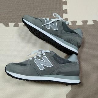New Balance - ニューバランス574 グレー 23