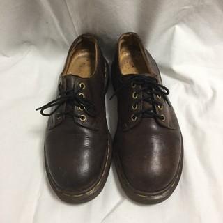 ドクターマーチン(Dr.Martens)のドクターマーチン レースアップ シューズ レザー イングランド製 ブラウン 茶色(ブーツ)