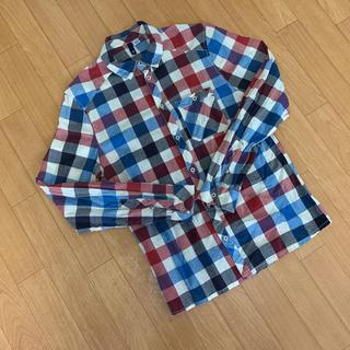 H&M - チェックシャツ H&M Sサイズ表記ですが海外サイズの為M