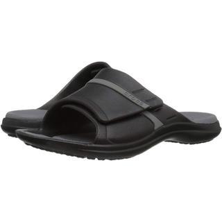 クロックス(crocs)のクロックス シャワーサンダル モディ スポーツ スライド 24cm Black(サンダル)