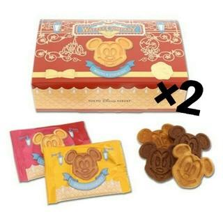 Disney - ディズニー ワッフルクッキー 2個
