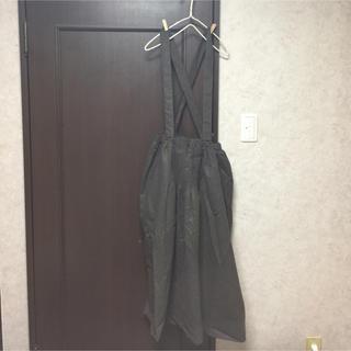 サマンサモスモス(SM2)の新品【30th】リンネルコラボ サスペンダー付きギャザースカート(ひざ丈スカート)