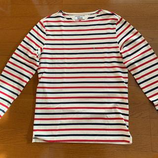 トミーヒルフィガー(TOMMY HILFIGER)のトミーヒルガーボーダーカットソー(Tシャツ/カットソー(七分/長袖))