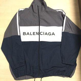バレンシアガ(Balenciaga)のバレンシアガ トラックジャケットL  40(ナイロンジャケット)