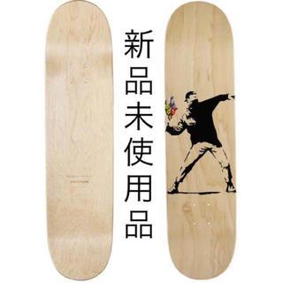 メディコムトイ(MEDICOM TOY)のバンクシー  フラワーボンバー デッキ(スケートボード)