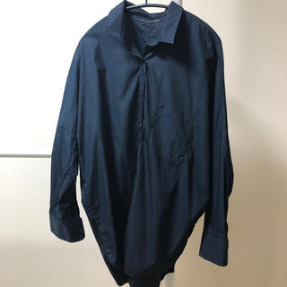 DEUXIEME CLASSE - MUSE de Deuxieme Classe ビックシルエットシャツ ネイビー