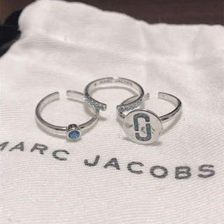 MARC JACOBS - MARC JACOBS 3連 トリプル リング