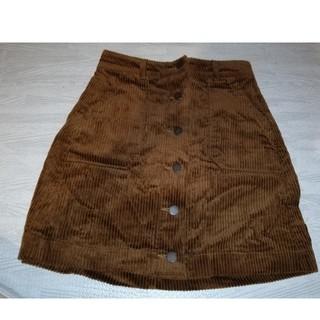 GU - GU コーデュロイミニスカート Sサイズ
