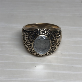 カレッジリング ビィンテージ ジャスティンズ 1986(リング(指輪))