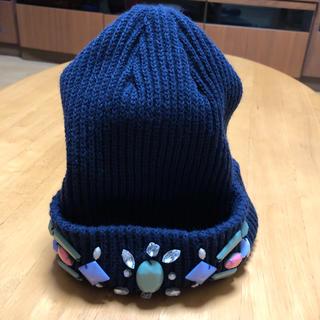 ローズバッド(ROSE BUD)のローズバッド ニット帽(ニット帽/ビーニー)