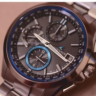 カシオ(CASIO)のカシオ腕時計CASIO OCEANUS海神シリーズ電波時計光エネルギーメンズ腕時(腕時計)
