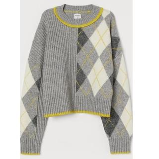 エイチアンドエム(H&M)のPRINGLE OF SCOTLAND x H&M 【新品】ジャガードニット(ニット/セーター)