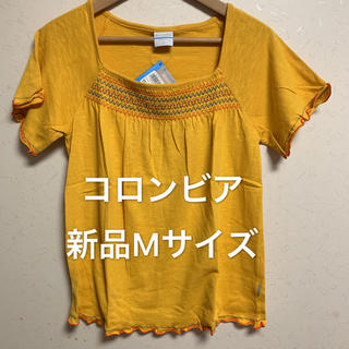 コロンビア(Columbia)の処分価格 新品M Columbia コロンビア トップス カットソー Tシャツ(Tシャツ(半袖/袖なし))