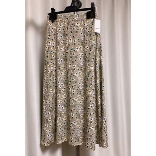 コムサイズム(COMME CA ISM)のコムサイズム 花柄スカート 未使用タグ付き(ロングスカート)
