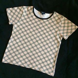 BURBERRY - バーバリー チェック Tシャツ  120㎝
