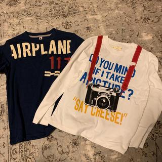 ベルメゾン(ベルメゾン)の130センチ 新品 Tシャツ 2点セット(Tシャツ/カットソー)