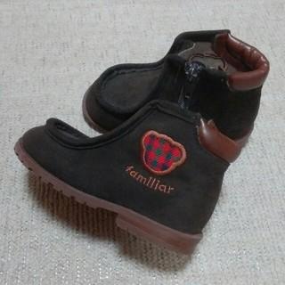 ファミリア(familiar)のファミリア ブーツ 13.5センチ(ブーツ)