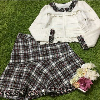 TO BE CHIC - To be chic❤︎レディセットアップ ツイード