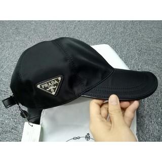 PRADA - PRADA プラダ 帽子 キャップ ブラック