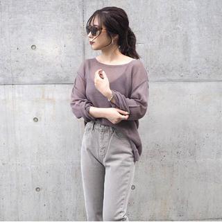 トゥデイフル(TODAYFUL)のlLAULEN  sheer loose knit(ニット/セーター)