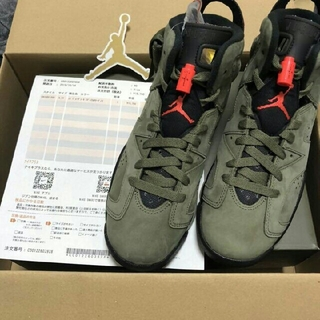 ナイキ(NIKE)のnike air Jordan 6 retro sp Travis 28cm(スニーカー)