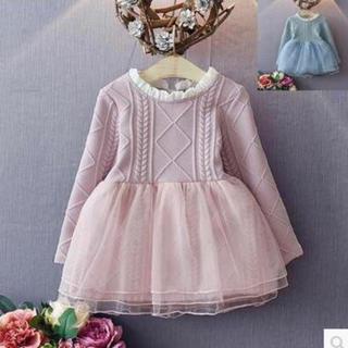 韓国子供服 プリンセスドレス(ワンピース)
