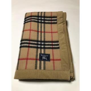 BURBERRY - ヴィンテージ バーバリー ノバチェック 毛布 カーペット 絨毯 ラグ カバー
