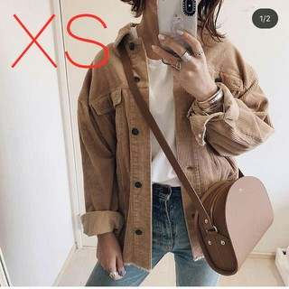ZARA - ☆大人気☆【ZARA】ポケット付きコーデュロイ地シャツジャケット