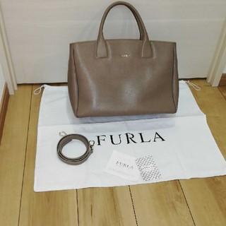 Furla - FURLA カバン ショルダー紐付 A4 ポケット多数