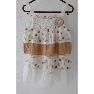 ビケット(Biquette)の子供服 Biquette(ビケット) ワンピース チュニック 110㎝ 女の子(ワンピース)