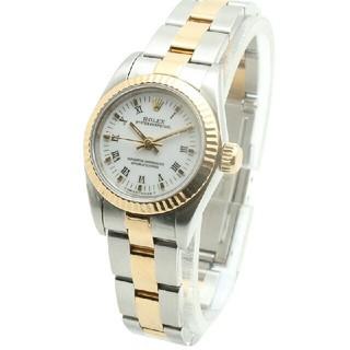 ROLEX - 女性時計69173自動機械式腕時計