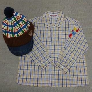 ミキハウス(mikihouse)のミキハウス シャツ&帽子セット(帽子)