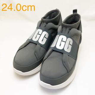 アグ(UGG)の新品 UGG アグ レディース スニーカー グレー 24.0cm(スニーカー)