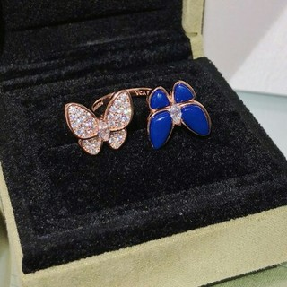 ヴァンクリーフアンドアーペル(Van Cleef & Arpels)の超美品Van Cleef & Arpels リング 指輪 レディース 正規品(リング(指輪))