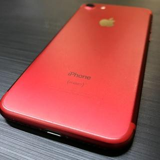iPhone - 【SIMフリー/中古】iPhone7 128GB レッド