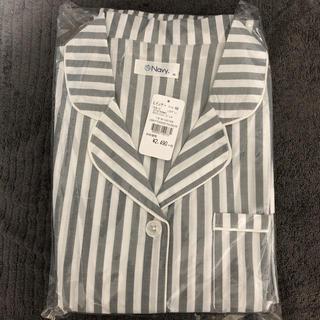 新品♡パジャマ 前開きタイプ 上下セット ストライプ