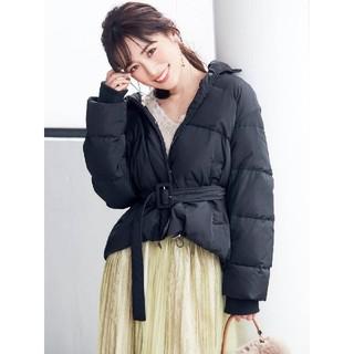 MERCURYDUO - MERCURYDUO  【泉里香×MERCURYDUO】ベルト付ショートダウンコ