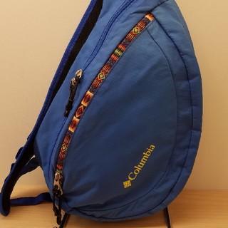 送料無料 columbia  ショルダーバッグ PU7219 ブルー 美品