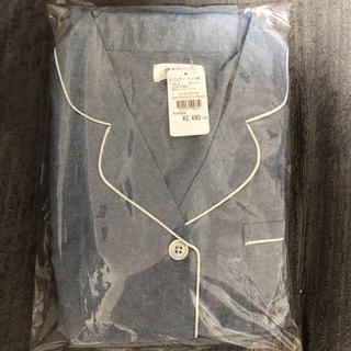 新品♡パジャマ 前開きタイプ 上下セット ブルー