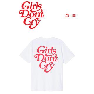 シュプリーム(Supreme)のGirls Don't Cry Tシャツ Verdy XL 白(Tシャツ/カットソー(半袖/袖なし))