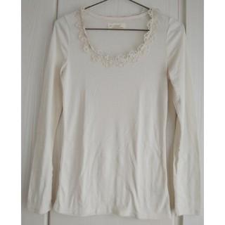 ダブルクローゼット(w closet)のw closet 花レースロンT(Tシャツ(長袖/七分))
